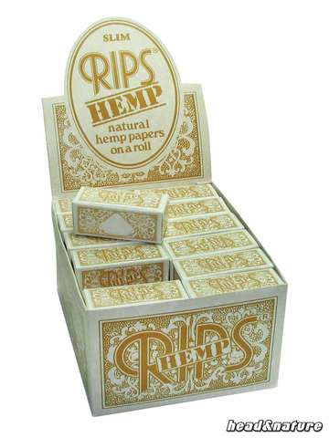 Rips Rolls hemp slim - 24 x