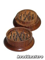 Wooden Grinder 50mm dark #1