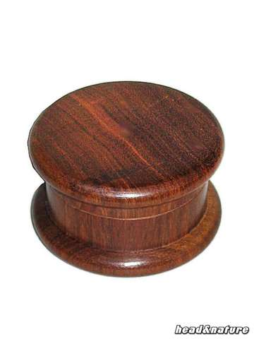 Wooden Grinder 50mm dark