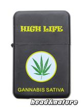 "Petrol Lighter ""Cannabis"" #2"