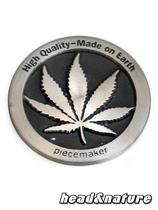 Piecemaker Stamp - Hemp leaf #0