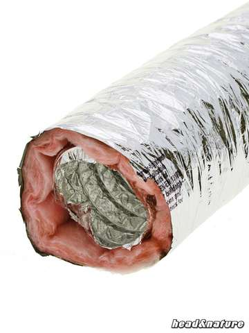Duct Hose, soundproofed, 127 mm 1m