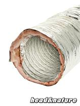 Duct Hose, soundproofed, 203 mm 1m #0