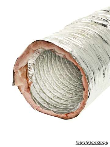 Duct Hose, soundproofed, 203 mm 1m