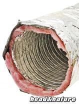 Duct Hose, soundproofed, 315 mm 1m #0