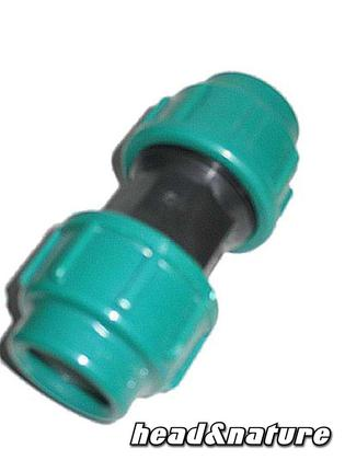 PE Hose Connector 2 x Ø 25 mm