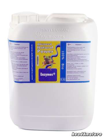 Advanced Hydroponics Natural Power Enzymes+ 5,000ml