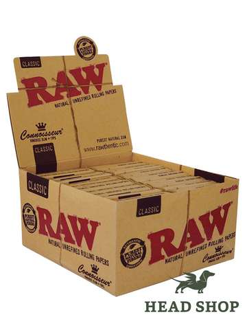 RAW Papers King size Slim + filter tips - 24 x
