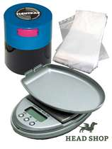 Packing-Set with digital scale, Tightvac and zip bags #0