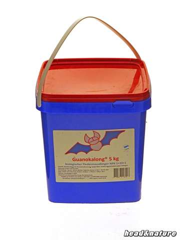 Guanokalong Powder Bat Guano 5 kg