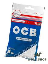 OCB Cigarette Filter - Slim 120 pieces #0