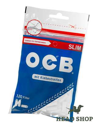 OCB Cigarette Filter - Slim 120 pieces