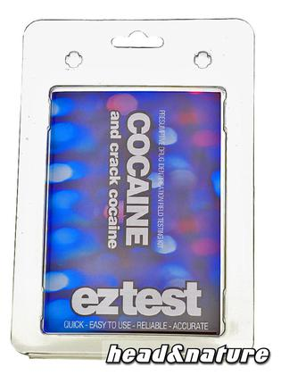 eztest Tube for Cocaine and Crack Identification