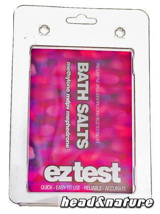 eztest Tube for Bath Salts: Mephedrone, Methylone and MDPV