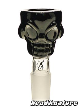 Weedstar Glass Bowl Skull 18,8 black