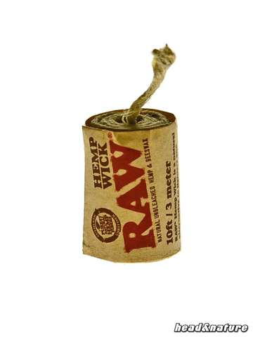 RAW Hemp Wick 6m