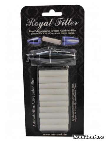 Royal Filter for Screen Queen / Prince black