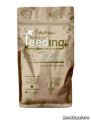 Green House Feeding BioGrow 125g