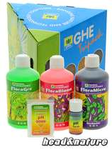 GHE - TriPak Flora Series Soft/Hard Water #0